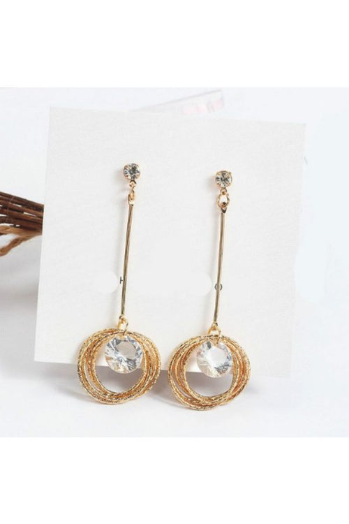 Gold-Laminated-Crystal-Circle-Earrings-online-budget-online-shopping-in-india