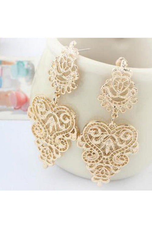 Gold-Vintage-Leaf-Bohemian-Earrings-online-budget-online-shopping-india