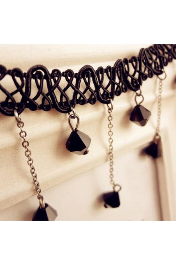 Lace-Hollow-Black-Beads-Necklace-the-199-store-everything-rs-199-each-jewelry-and-accessories-online-shopping-online