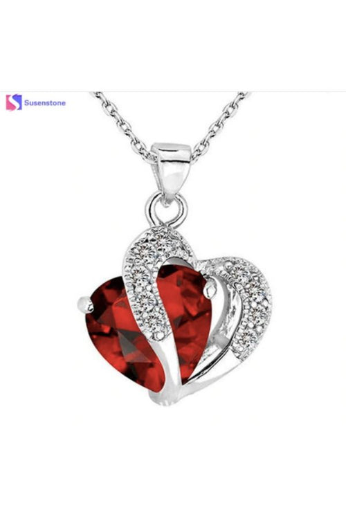 Red-Crystal-Heart-Necklace-online-budget-online-shopping-in-India