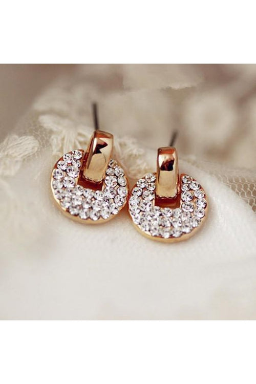 Rhinestone-Circle-Stud-Earrings-the-199-store-everything-rs-199-each-online-shopping-online