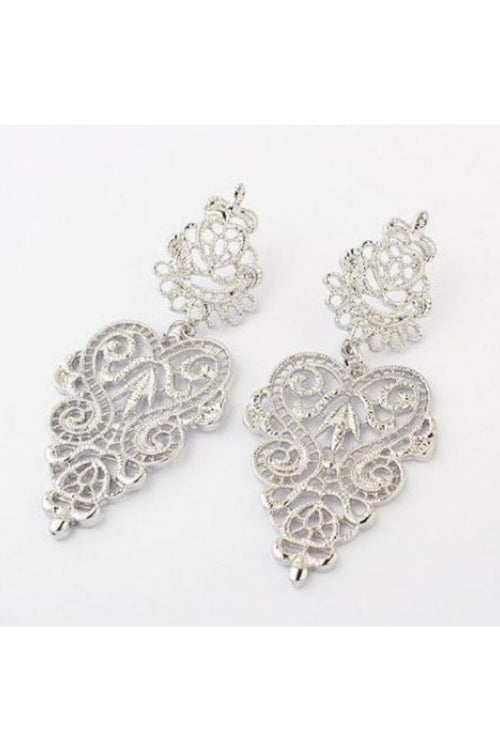 Silver-Vintage-Leaf-Bohemian-Earrings-online-low-budget-online-shopping-india3