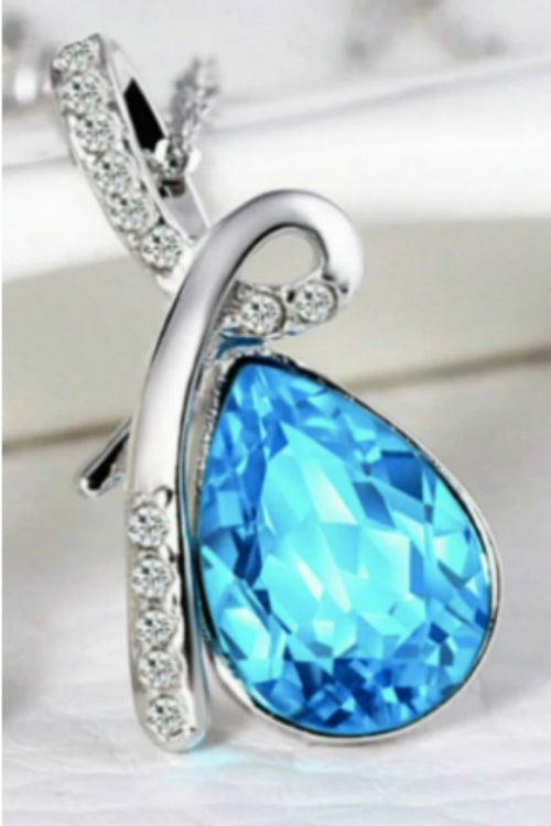 blue-teardrop-necklace-cheap-teardrop-necklaces-online-budget-shopping-online-in-india