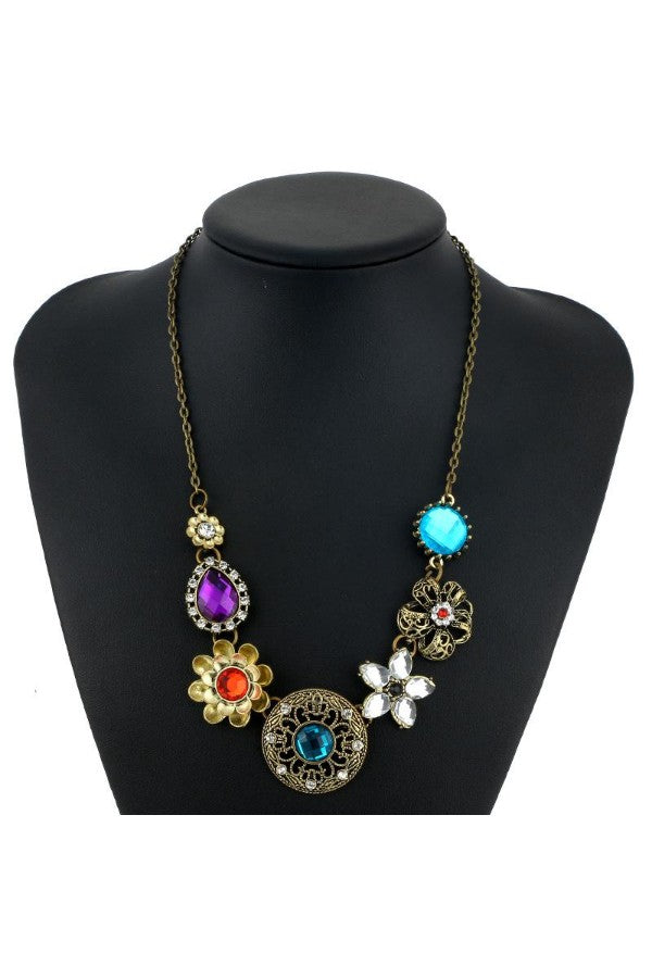 crystal-Flowers-Bib-Necklace-the-199-store-everything-rs-199-each-jewelry-and-accessories-online-shopping-online