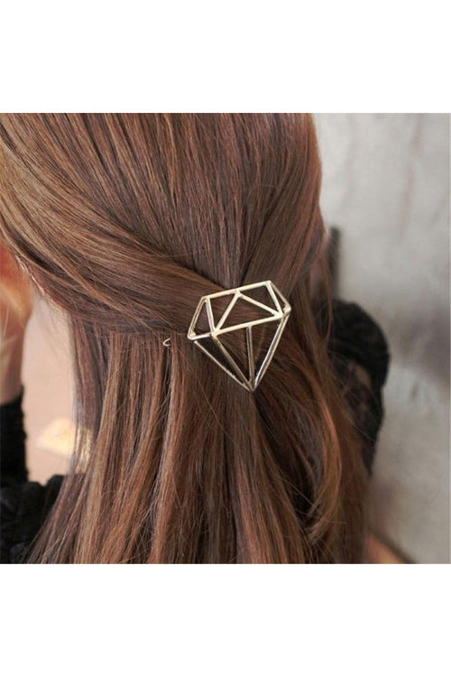 diamond-hair-clip-golden-free-shipping-in-india