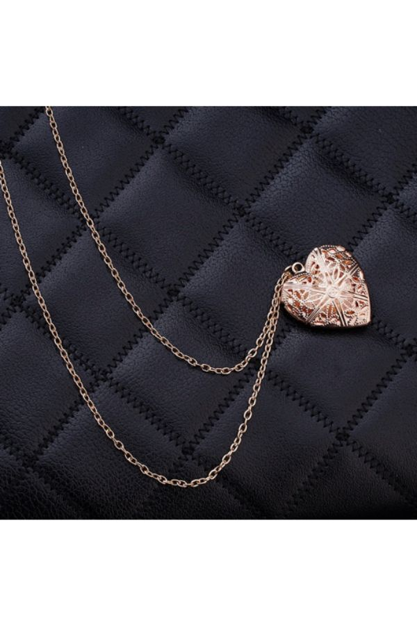 gold-Hollow-Heart-Pendant-Necklace-online-budget-online-shopping-india