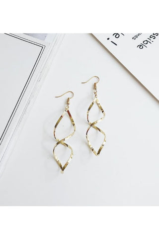Silver Retro Coin Earrings