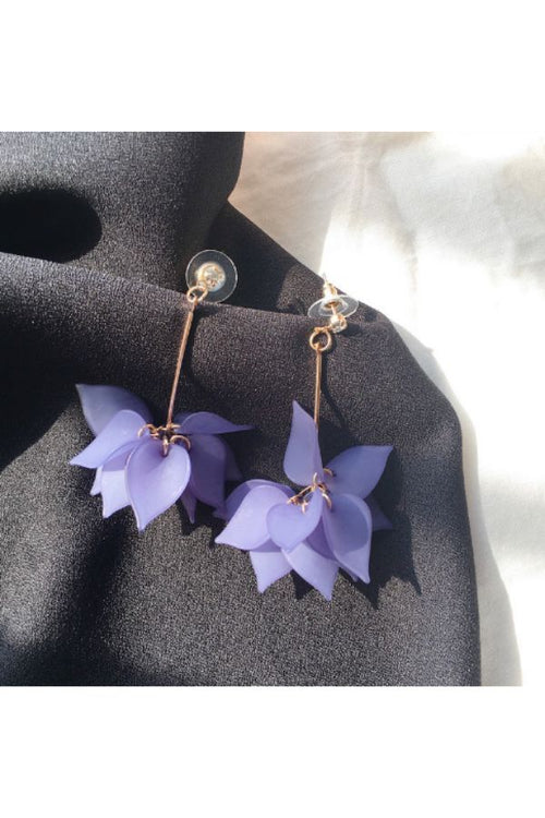 purple-Multi-Petaled-Flower-Earrings-online-everything-rs-199-each-jewelry-and-accessories-online-shopping-online
