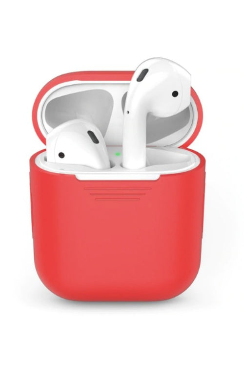 red-Silicone-Apple-AirPods-Case-AirPods-Silicone-Case-Online-budget-online-shopping-in-india