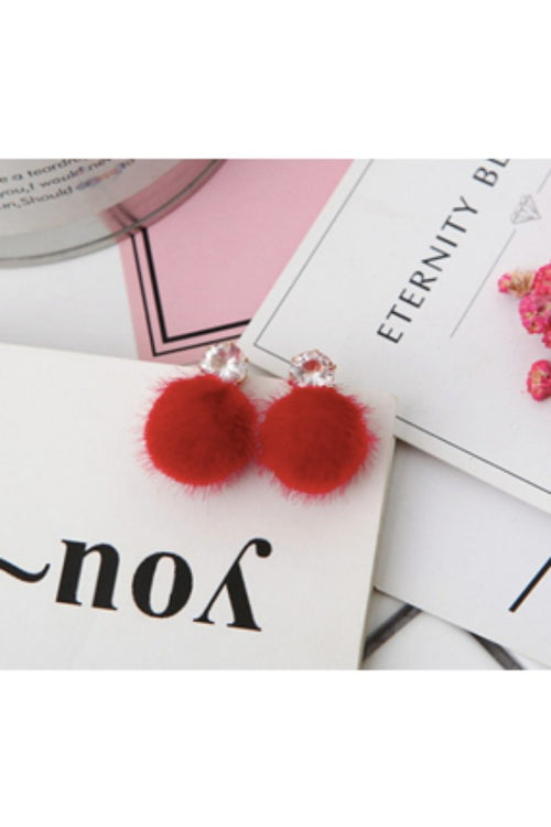 red-hair-ball-earrings-online-artificial-jewelry-online-budget-shopping-online