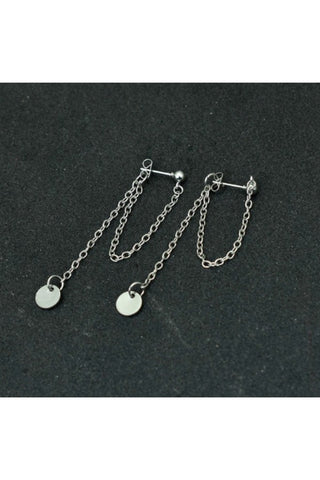 Silver Dog Paw Necklace