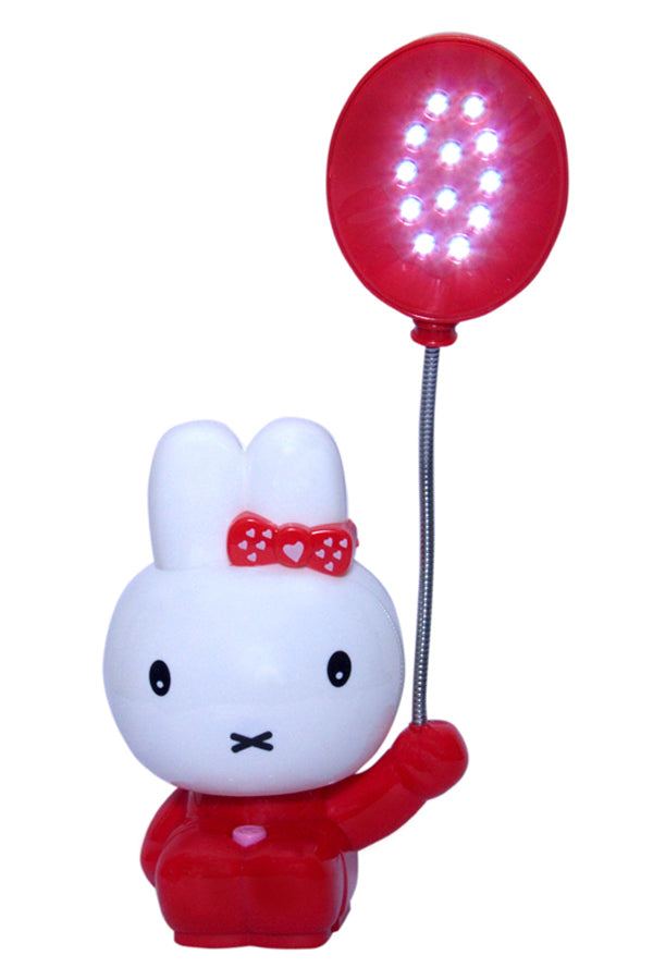 Red Kitten Table Lamp with Star