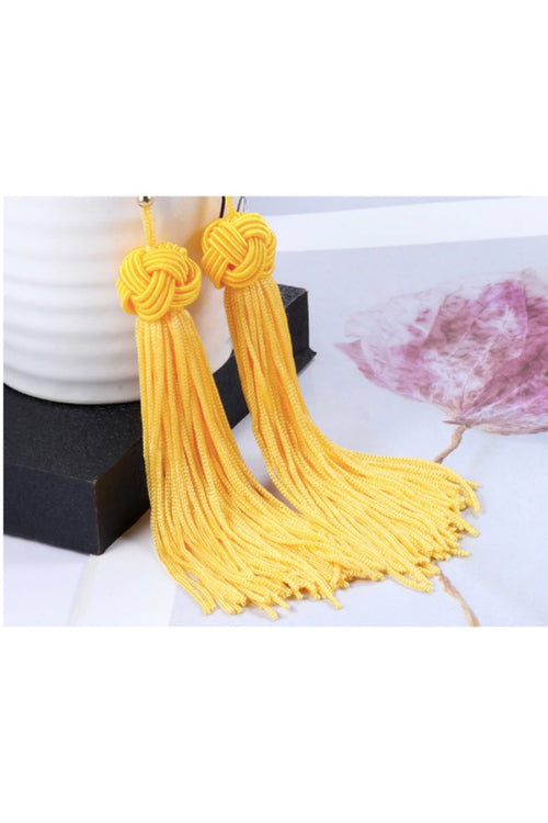 yellow-tassel-earrings-online-India-low-price-online-shopping-sites-in-india