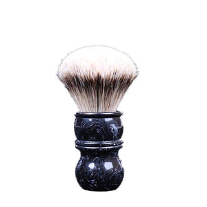 Black 24MM Silvertip Badger Brush
