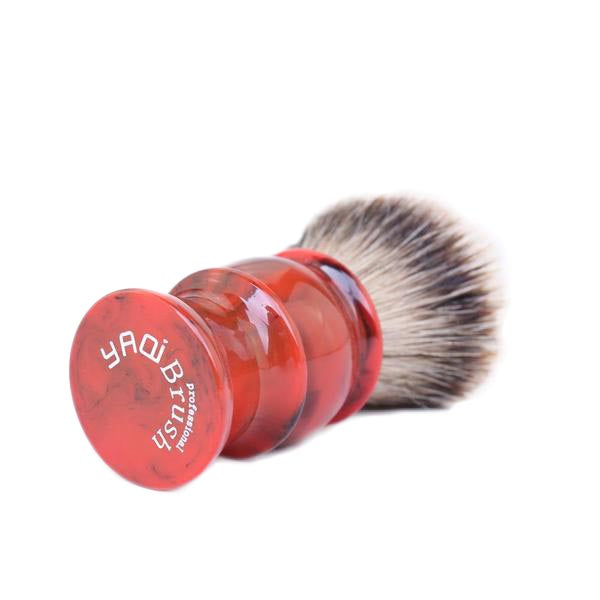 Red 24MM Silvertip Badger Brush