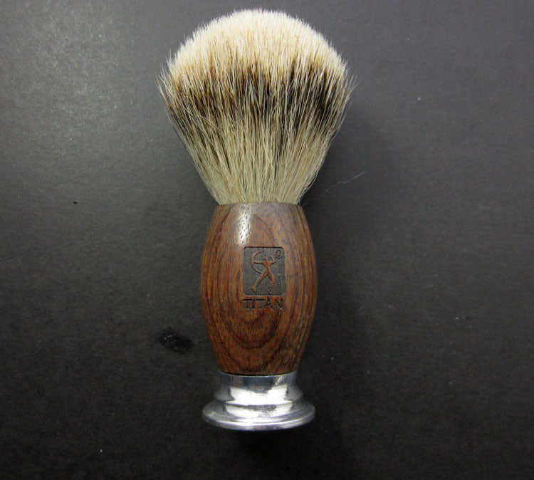 Wood & Metal Shaving Brush