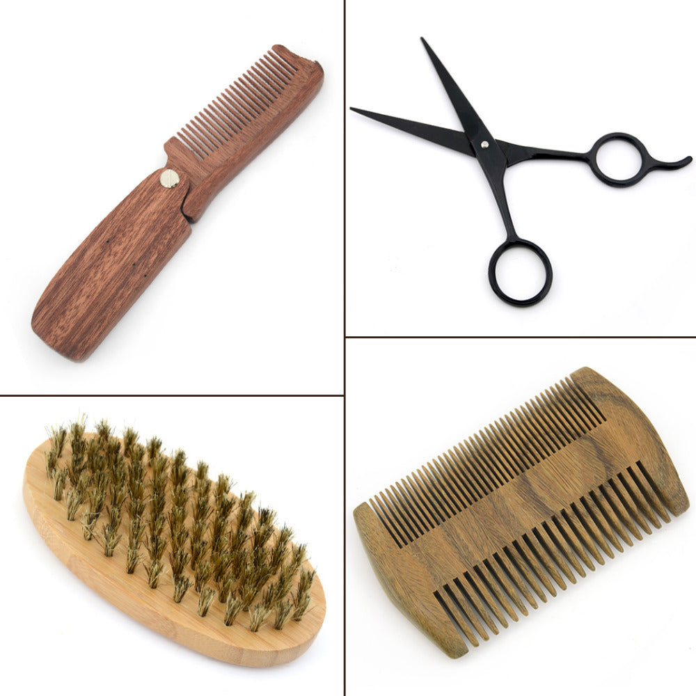 Bamboo & Sandalwood Comb Kit