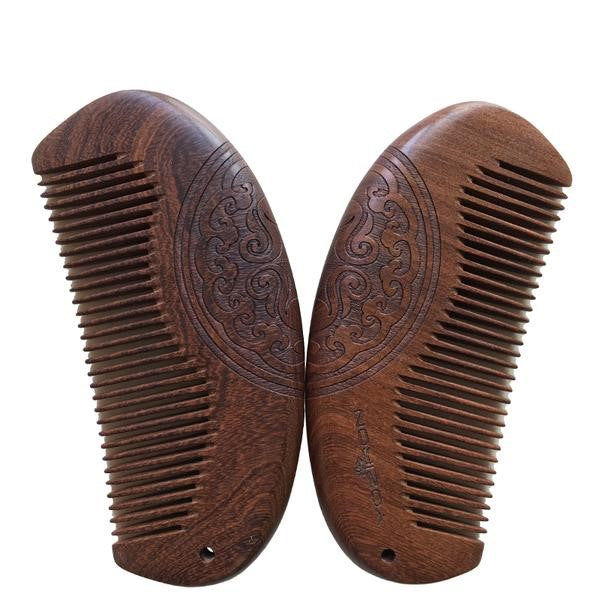 Dark Sandalwood Beard Comb
