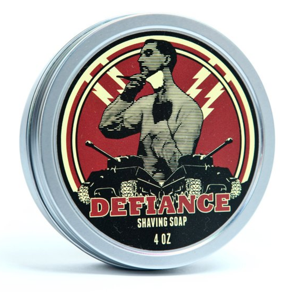 Defiance Vegan Shaving Soap