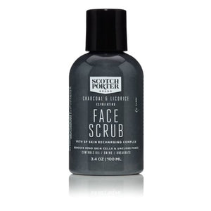 Charcoal & Licorice Face Scrub