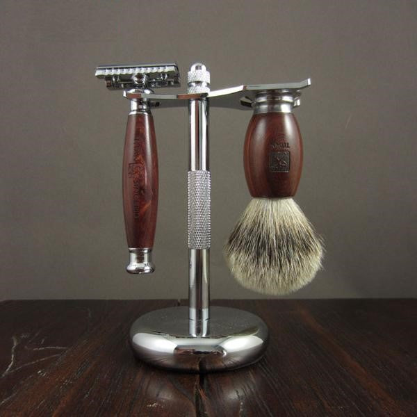The Charlemagne Safety Razor Set