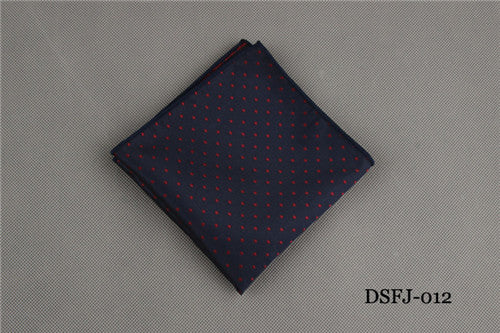Wine Dot Pocket Square