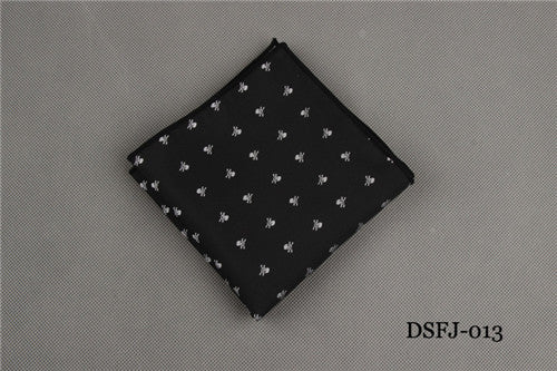 Skull & Bones Pocket Square