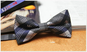 Blue/Black Bowtie