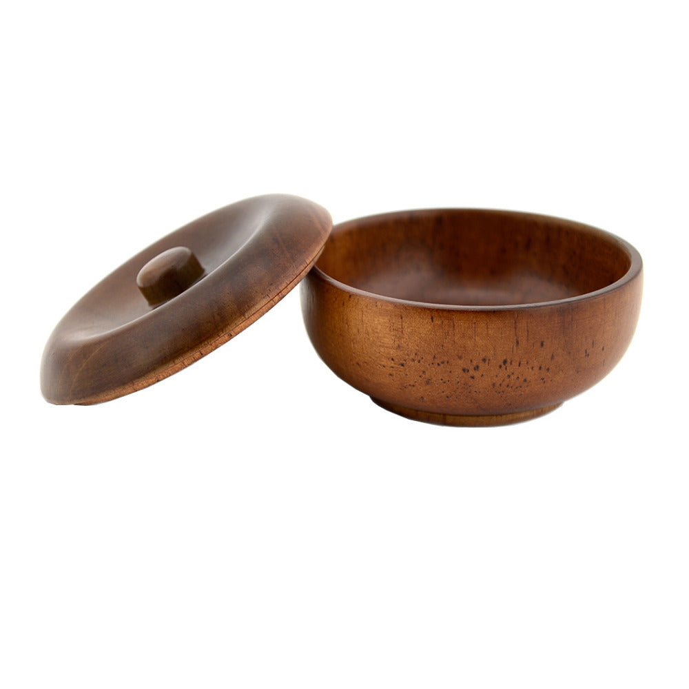 Rubber Wood Shaving Bowl