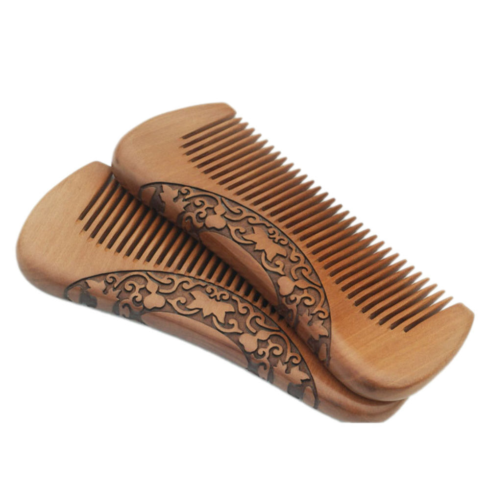 Straight Sandalwood Beard Comb
