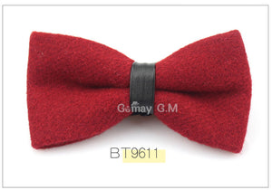 Red Flannel Bowtie
