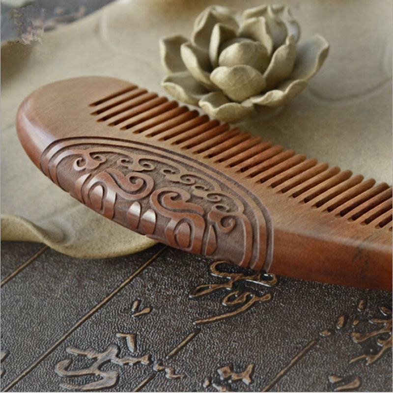 Pocket Sandalwood Beard Comb