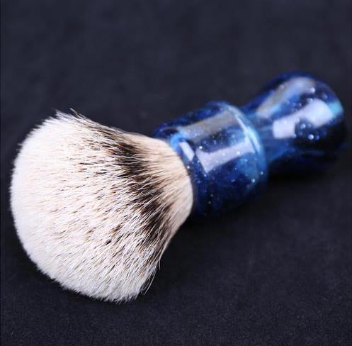Blue 24MM Silvertip Badger Brush