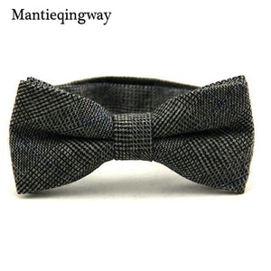 Flannel Glen Plaid Bowtie