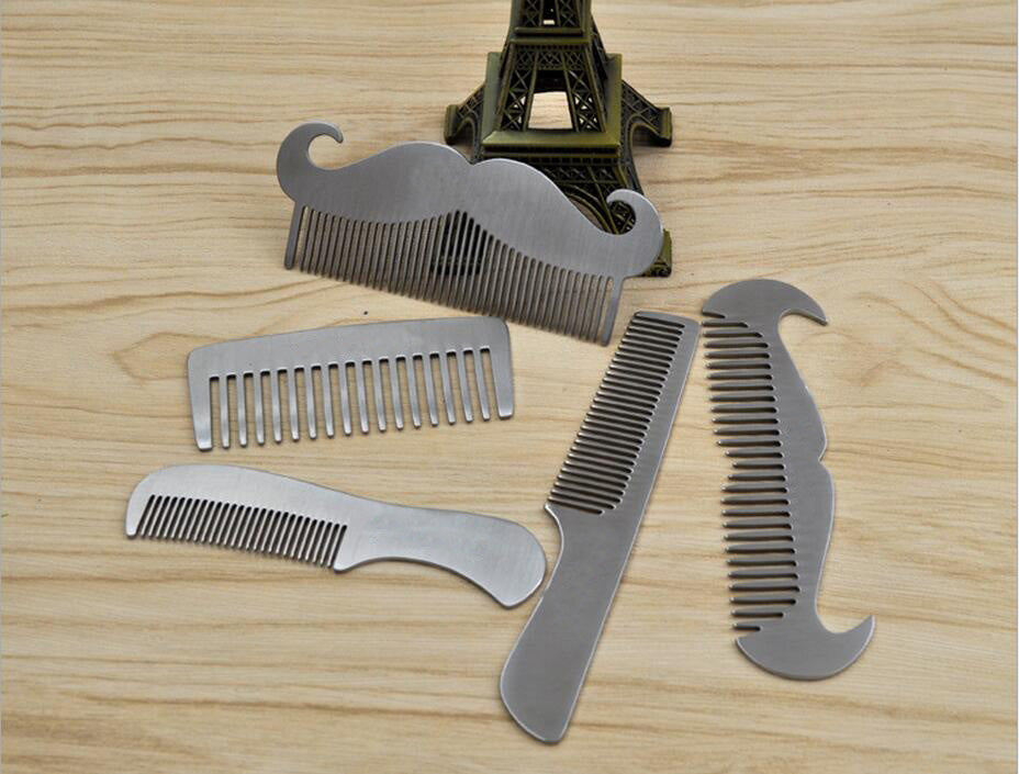 Artisan Stainless Beard Combs
