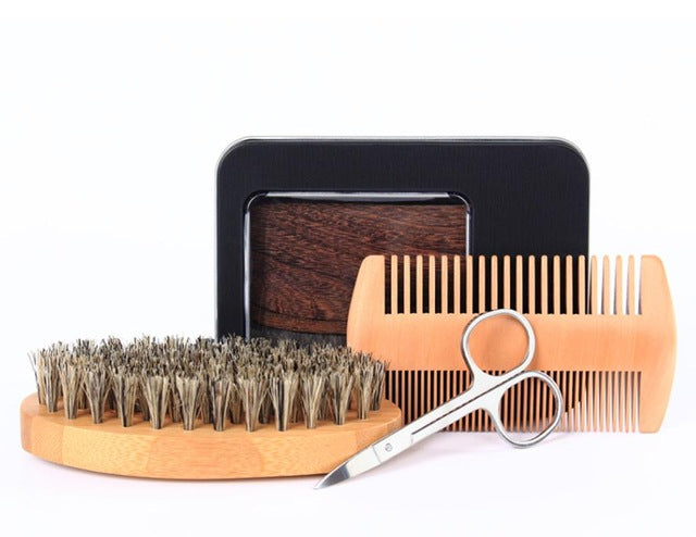 Bamboo Beard Grooming Kit