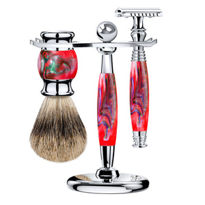 The Red Mirage Safety Razor Kit