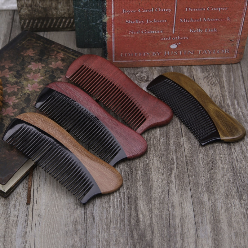 Handmade Purple Heart Wood Beard Comb