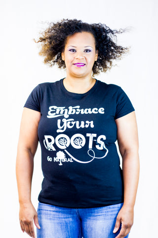 Embrace Your Roots(Black)