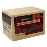 14000 | Glove, Exam Grade, Black Widow, Nitrile, PF, X-Small, 100/Box - 10 Box/Case Case Front