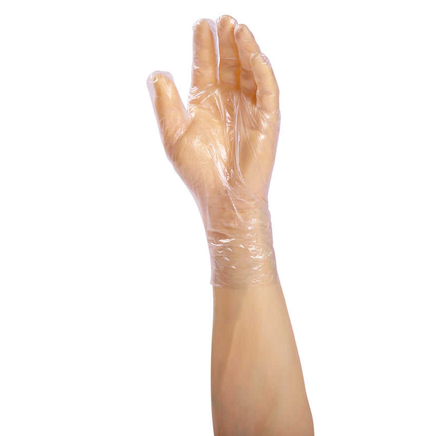 14991 | Glove, Foodguard, Embossed HDPE, PF, Small, 4/500 Glove on Hand