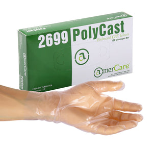 26991 | Glove, Polycast, Textured, PF, Small, 100/Box - 10 Box/Case