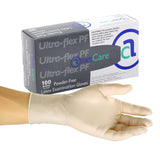 3000 | Glove, Exam Grade, Ultra Flex Latex, PF, X-Small, 100/Box - 10 Box/Case