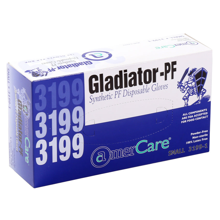 31991 | Glove, Gladiator Synthetic, PF, Small, 100/Box - 10 Box/Case Inner Standing