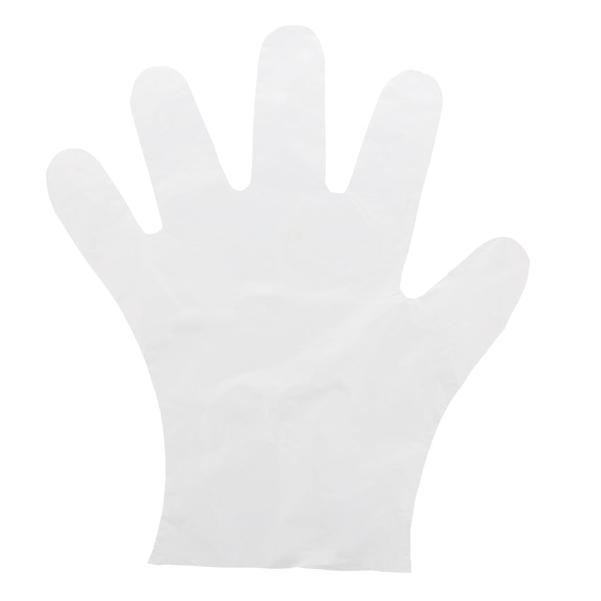3991 | Glove, Foodguard, Embossed HDPE, PF, Small, 10/10/100 Glove Flat