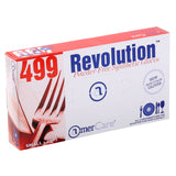 4991 | Glove, Revolution Blue Cast Poly, Textured, PF, Small, 100/Box - 10 Box/Case Inner Standing