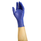6000 | Grape Grip Nitrile Gloves, Exam Grade, Powder-Free, X-Small, 10/100 Glove On Hand