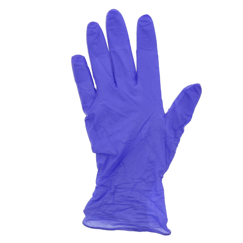 6000 | Grape Grip Nitrile Gloves, Exam Grade, Powder-Free, X-Small, 10/100 Glove Flat