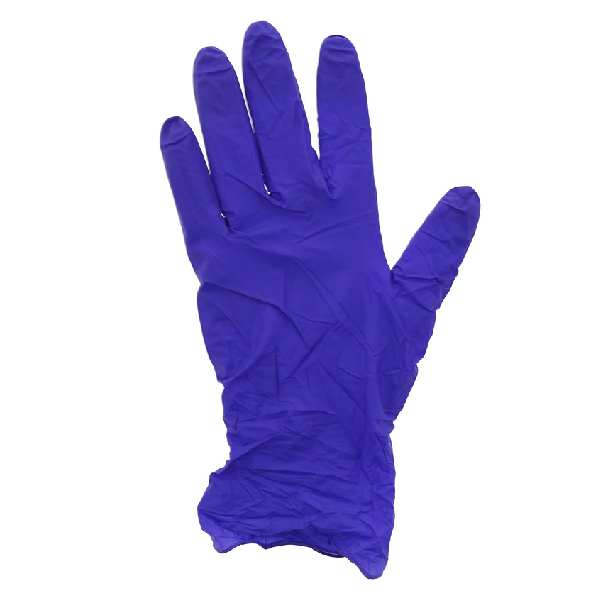 80991 | Glove, Edge Indigo, Nitrile, Soft, PF, Small, 100/Box - 10 Box/Case Glove Flat