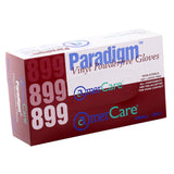 8991 | Paradigm Vinyl Gloves, Powder-Free, Small, 10/100 Inner Standing